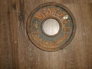 Weider International Single 1 1/4 kg 2.75lb  Vintage Olympic plate Weight