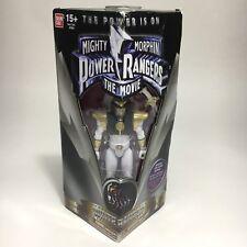 "Mighty Morphin Power Rangers The Movie-White Ranger 5"" Action Figure BANDAI"