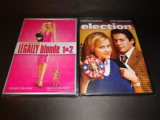 LEGALLY BLONDE 1 & 2 w/ELECTION-3 movies-REESE WITHERSPOON, MATTHEW BRODERICK
