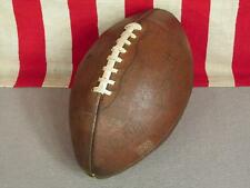 Vintage Sonnett Official Leather H5 Football w/Laces Ed Brown Model All American