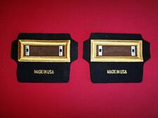 Pair Of US Army WARRANT OFFICER WO1 Rank Shoulder Badges Epaulets *New*