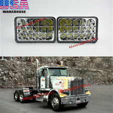 2X LED Headlights Sealed Beam Headlamps For FREIGHTLINER FLD 120 112 FLD 2PCS AA