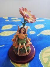 Flower Fairies Figurine The Marigold Fairy Cicely Mary Barker 2000 A0305 Wob