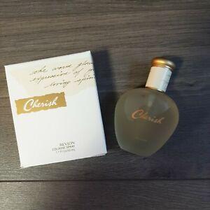 Cherish By Revlon Cologne Spray 1.7 Oz 50 ml NIB