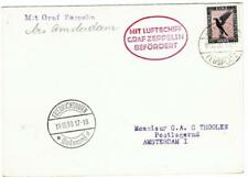 GRAF ZEPPELIN-1930MANNHEIM FLIGHT-RETURN-MANNHEIM 19/10/30-to FRIEDRICHSHAFEN