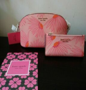 Kate Spade Falling Flower Spencer Crossbody Purse and Wallet