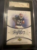 2007 Upper Deck Trilogy Marshawn Lynch Auto Rookie Gem 10