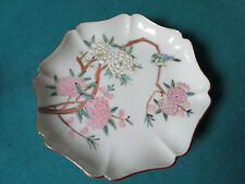 "ANTIQUE CHINESE HANDPAINTED PLATE 6""  [*MOR]"