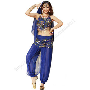 Belly dance clothes costume belly dance set indian dance wear HY party dress up