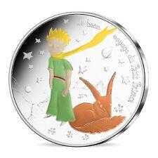 50 Euro Argent Colorisée France 2016 Le Petit Prince et le Renard Couleur Fox