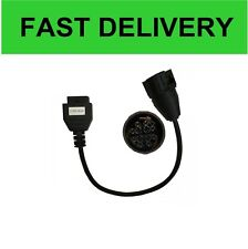 12 PIN MAN TO OBD II diagnostic cable for DELPHI, Autocom