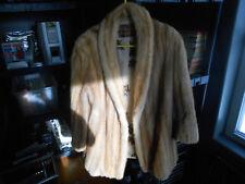 "C.E. Fredricks Red Fox Fur Coat -  22"" Sleeves - 31"" Long Back"