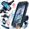Waterproof Case Bike Phone Mount Mobile Cell Phone Holder For iPhone 6 7 8 X S9