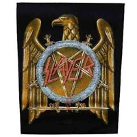Slayer Golden Eagle Back Patch Official Backpatch Heavy Metal New