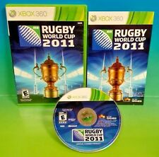 Rugby World Cup 2011  - XBOX 360 game - COMPLETE Rare
