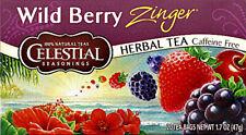 Wild Berry Zinger Tea, Celestial Seasonings, Pack of 3