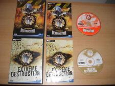 Robot wars 1 & 2 Arenas de destrucción + Extreme destrucción PC CD ROM
