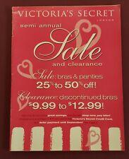 Victoria's Secret Semi Annual Sale Catalog 1998
