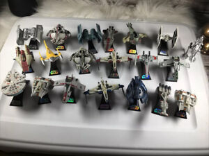 STAR WARS TItanium Series Die Cast Vehicles LOT OF 20