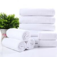 Soft Luxury el Spa Bath Towel 100% Turkish Cotton White