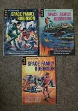 Lot of 3 Gold Key Space Family Robinson 1965 Issues #12, 13, 14