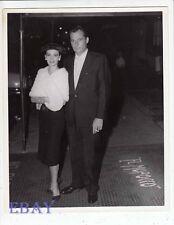 Natalie Wood Nick Hilton candid 1957 VINTAGE Photo