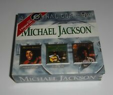 """MICHAEL JACKSON  """" 3 ORIGINAL CDs """" Coffret (Comme Neuf) 1999"""