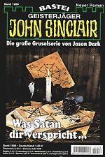 JOHN SINCLAIR ROMAN Nr. 1986 - Was Satan dir verspricht ... Marc Freund NEU