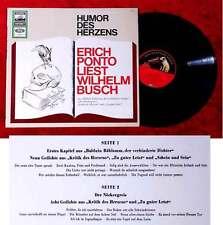 LP Erich Ponto liest Wilhelm Busch - Humor des Herzens /Electrola 1C 061-1288001