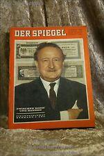 Der Spiegel 45/65 3.11.1965 Zwischen Bonn und Banken