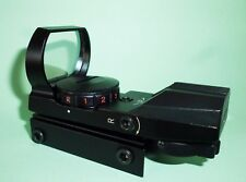 Red & Green Electro Dot Sight with 4 Reticles & 5 Illumination Levels, BNB