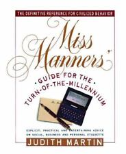 Miss Manners' Guide for the Turn-of-the-Millennium ( Martin, Judith ) Used