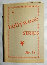 Hollywood Strips Booklet No. 17 Netherlands Maple Leaf Bubble Gum Premium