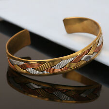 Bracelet Women New Cuff Link Copper Magnetic Pain Therapy Healing Bio Bangle