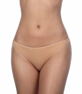 Timpa Women's Basic Seamless Low Rise Cotton/Spandex Thong Panty 00004