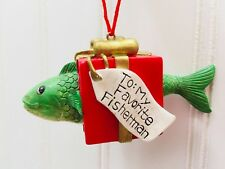 Midwest at Cannon Falls My Favorite Fisherman Ornament Christmas Tree Fish 23201