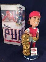 Ivan Pudge Rodriguez Texas Rangers 2014 Gold Glove SGA Bobblehead NIB + Ticket!