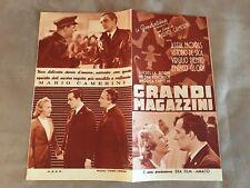 BROCHURE,1939,GRANDI MAGAZZINI ASSIA NORRIS VITTORIO DE SICA CAMERINI MARIO