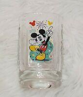 McDonalds Walt Disney World 2000 Celebration Disney Glass Cup Mickey Mouse