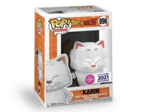 *Mint* Funko Pop! Dragon Ball Z Karin Flocked 896 Exclusive