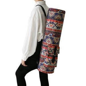 Waterproof Portable Yoga Mat Carrier Bag Fitness Pilates Shoulder Strap Gym Bag