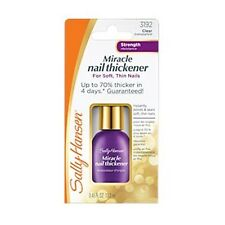 SALLY HANSEN*^ Clear Polish MIRACLE NAIL THICKENER For Thin Nails #3192 STRENGTH