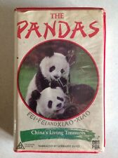 THE PANDAS FEI-FEI and XIAO-XIAO CHINAS LIVING TREASURES VHS VIDEO CASSETTE TAPE