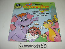 Vintage Walt Disney's Wuzzles Eleroo & Brahma Bullfinch Book Record Set SEALED