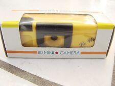 110 FILM CAMERAS, 110 Mini Camera LE World new in box vintage