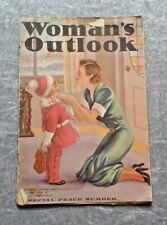 Woman's Outlook Magazine 9th January 1937