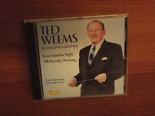 Ted Weems & His Orchestra : From Saturday Night ' Till Monday Morning : CD Album