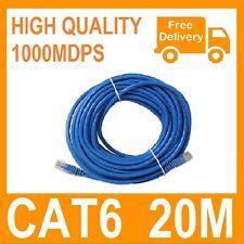 20M Ethernet LAN Network CAT6 Cable 65FT RJ45 10M/100M/1000M compatible!