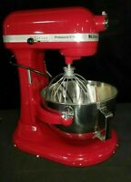 KitchenAid KP25M0XER5 Professional 5 Plus Quart Bowl-Lift Stand Mixer Red NOB