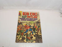 Kid Colt Outlaw #123 (1965) Jack Kirby Cover Western Marvel